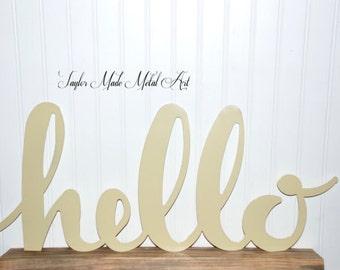 Hello Sign (Custom Size)