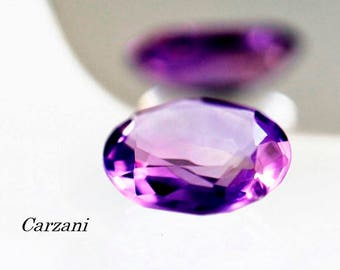 Amethyst,natural gemstone 4.80ct, oval faceted 13,2 mm,
