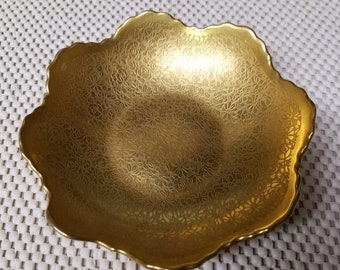 Beautiful GOLD ENCRUSTED Small Bowl by PICKARD, 1925 - 38 - Excellent Condition