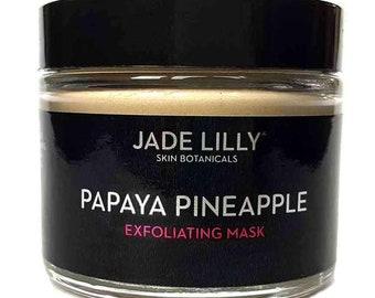 Papaya Pineapple Exfoliating + Brightening Face Mask