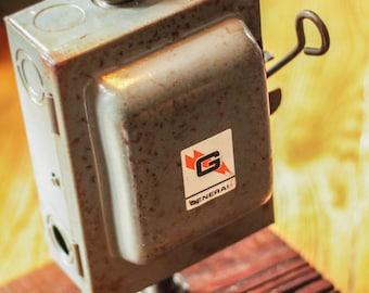 Fuse Box Light, Vintage Lighting, Rustic Light, Edison Bulb Lighting, Fuse Box Lamp, Rustic Industrial Lamp