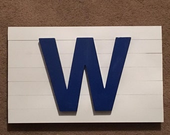 W Flag Chicago Cubs Win Flag