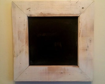 Chalkboard with rustic finish