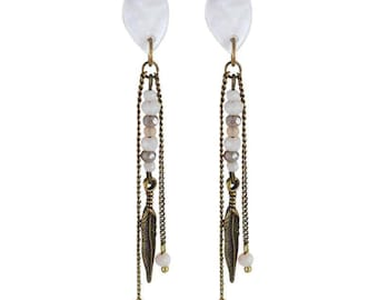Earring clip Bali (made in France)