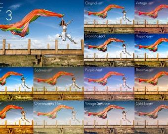 11 Photoshop Actions - Set 3