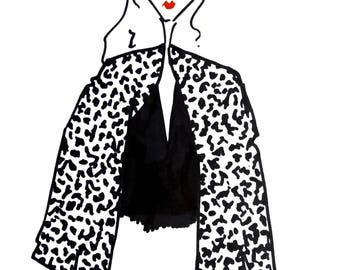 Illustration: Leopard spots