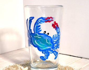 Crab Pub Glass