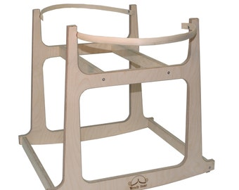 Moses Basket Stand-2 sizes to choose from - Made in the USA