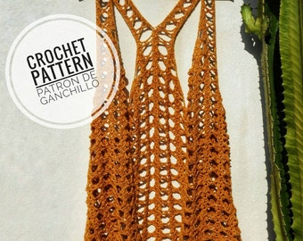 The Wild Vera Vest Crochet Pattern