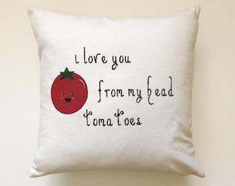 I love you Pillow- Kid Space- Home Decor- Comfort- Style- Personalize- Housewarming- Gift