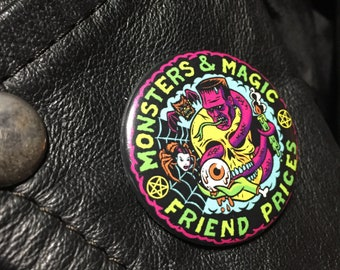 Monsters and Magic Pin CHEAP
