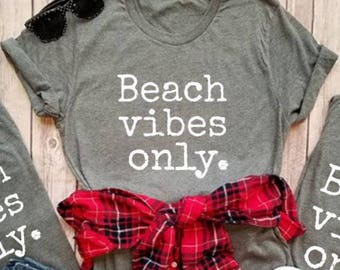 Super Soft Vacation Tee's Beach Vibes
