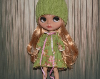 """Outfit for Blythe """"Spring greens"""""""