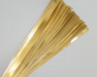 Gold Foil : Lucky Stars Paper Strips (100)