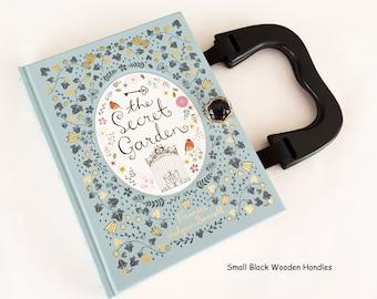 The Secret Garden Recycled Book Purse - Secret Garden Book Clutch - Book Cover Handbag - Purse made from a book