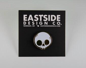 Skull Pin (Gold Variant) - Eastside Design Co.
