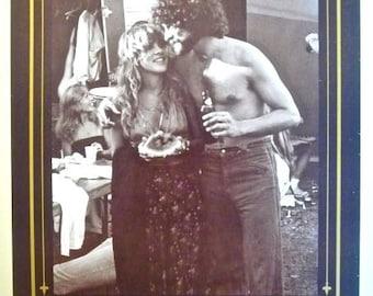 FLEETWOOD MAC * Photo Poster * Sunday Break II 1976 * Austin, Texas * 11x15 * 1991 * Stevie Nicks * Lindsey Buckingham