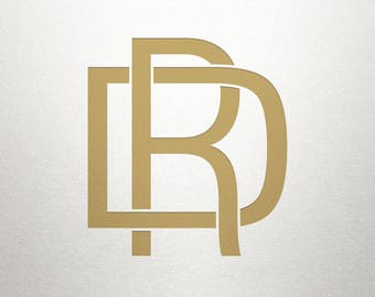 Interlocking Logo Design - DR RD - Interlocking Logo - Digital