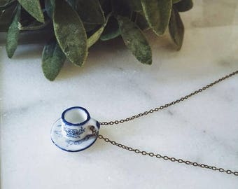 Necklace || Japanese Teacup