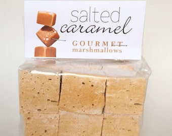 Fresh Homemade Gourmet Salted Caramel Marshmallows **Gluten Free**