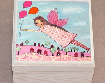 Jewelry Box - Fairy Jewelry Box - Tooth Fairy Jewelry Box - Tooth Fairy Gift