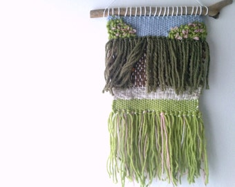 The Secret Garden Nursery Decor, Book Inspired Weaving Woven Wall Hanging Home Decor