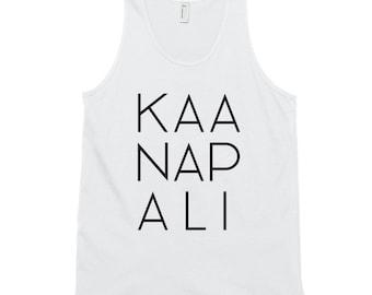 Kaanapali Tank Top - Hawaii vacation - Resort Wear - Maui - Naupaka - Hawaiian shirts for women - Black Rock Maui - Summer Vacation Shirt