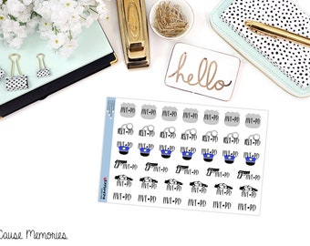 LIVE PD INSPIRED Paper Planner Stickers