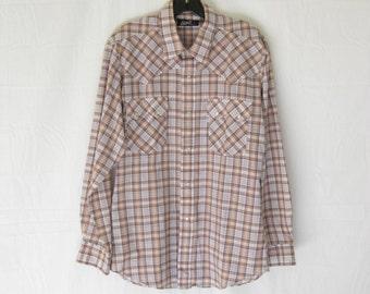 Vintage 70s LEVIS Slim Fit Western Shirt