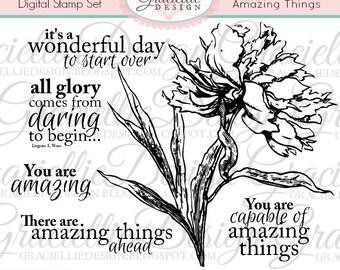 Amazing Things - Digital Stamp Set