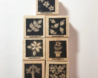 Stampin Up Retired Garden Blocks 2003