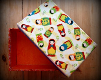 Matryoshka doll shoe box