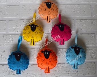 Sheep - Hanging Decoration