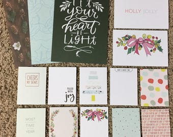 December Daily | Project Life Cards + 3 6x8 Papers