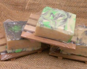Sandalwood Goats Milk Soap Gift Set