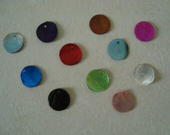 10 colors round sequins