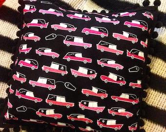 Halloween coffin cars cushion