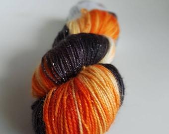Skein of Superwash Merino - Nylon - Stellina / Fingering / Sock hand - dyed colors Mercy
