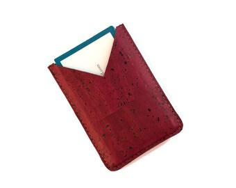 Minimalist wallet women - Vegan wallet women - Minimalist wallet vegan - Gifts for women doctor - Business card case women - Card Holder