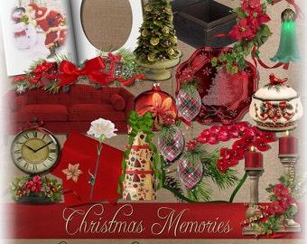 Christmas Digital Scrapbooking Kit
