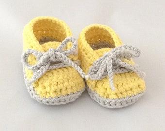 Cutie Baby Booties - Yellow
