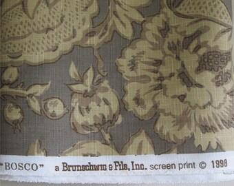 Brunschwig & Fils Vintage Designer Fabric  by the yard Bosco