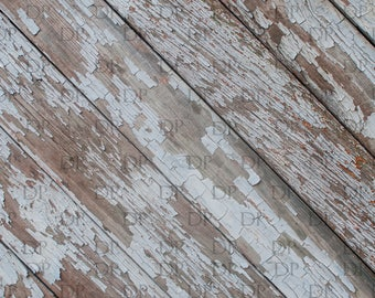 Peeling Paint White Digital Background, Wooden Wallpaper,Food Photography Backdrop, Graphic Design, Printable, Backdrop Photography, Wooden