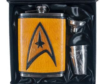 Star Trek Command Geek Flask Set
