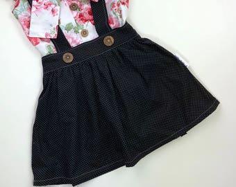 Girls Suspender Skirt