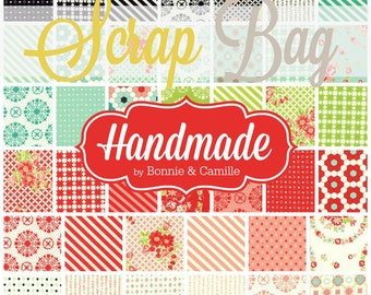 Handmade - Scrap Bag Quilt Fabric Strips by Bonnie and Camille for Moda