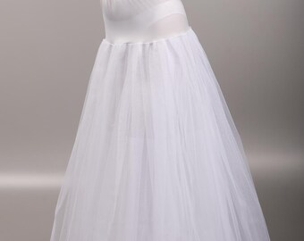Classic Bridal Petticoat with no Hoops