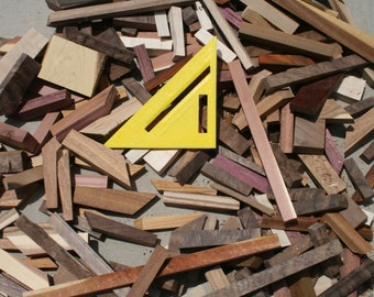 Box of Scrap Wood for Projects USA shipping Included