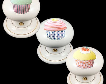 Cupcake knobs | Etsy