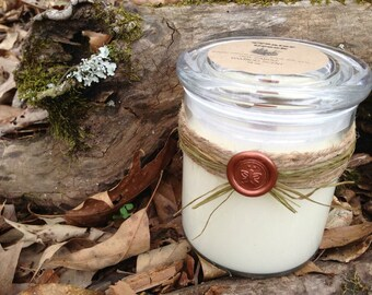 Spa Wood Wick Soy Candle